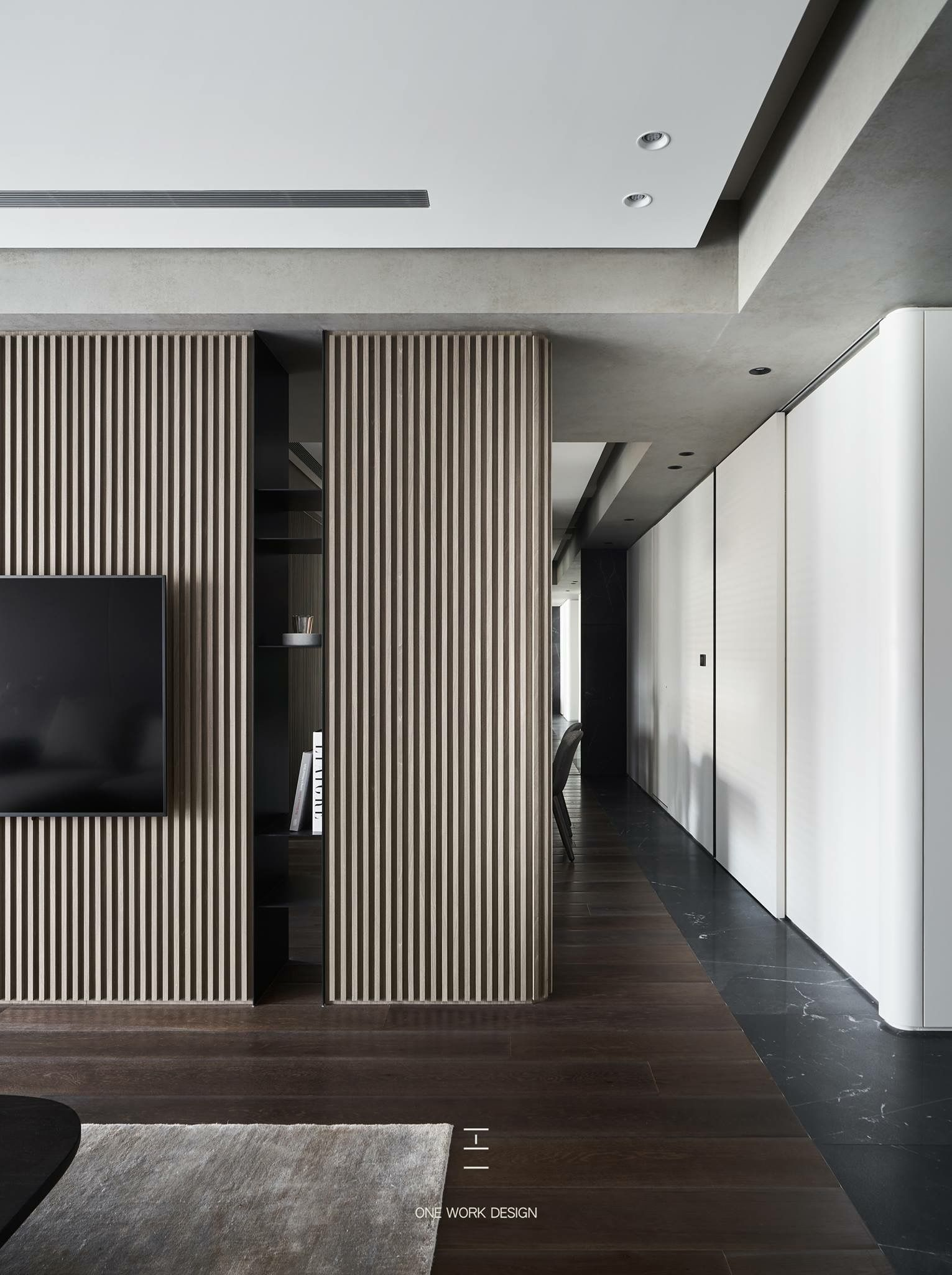 Interior Design Tv Room: Interior By One Work Design