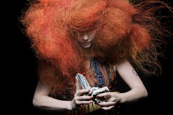 Is there anyone more innovative than Björk? I think not. Definition of badass.