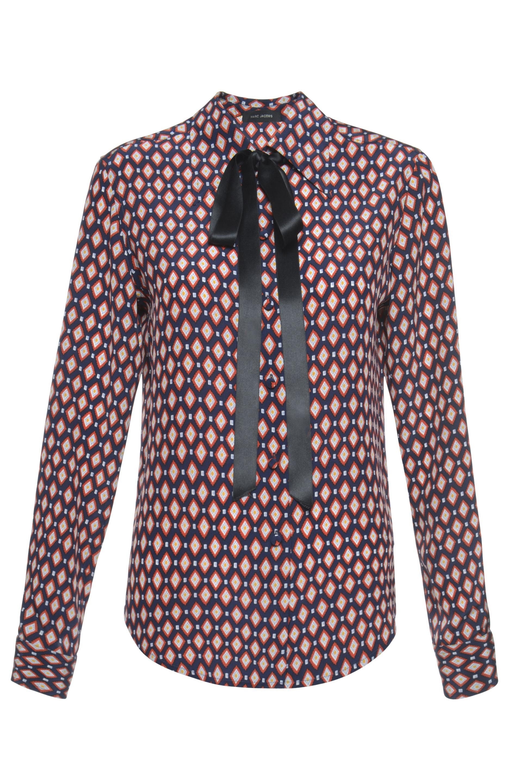cf18a16ff6c21d MARC JACOBS Crêpe De Chine Diamond Print Button Down Shirt.  marcjacobs   cloth