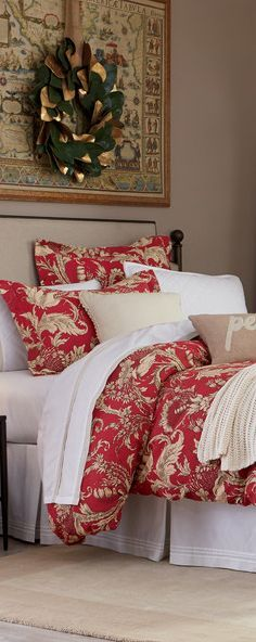 Gracie Christmas Bedding Holiday Ideas in 2018 Pinterest