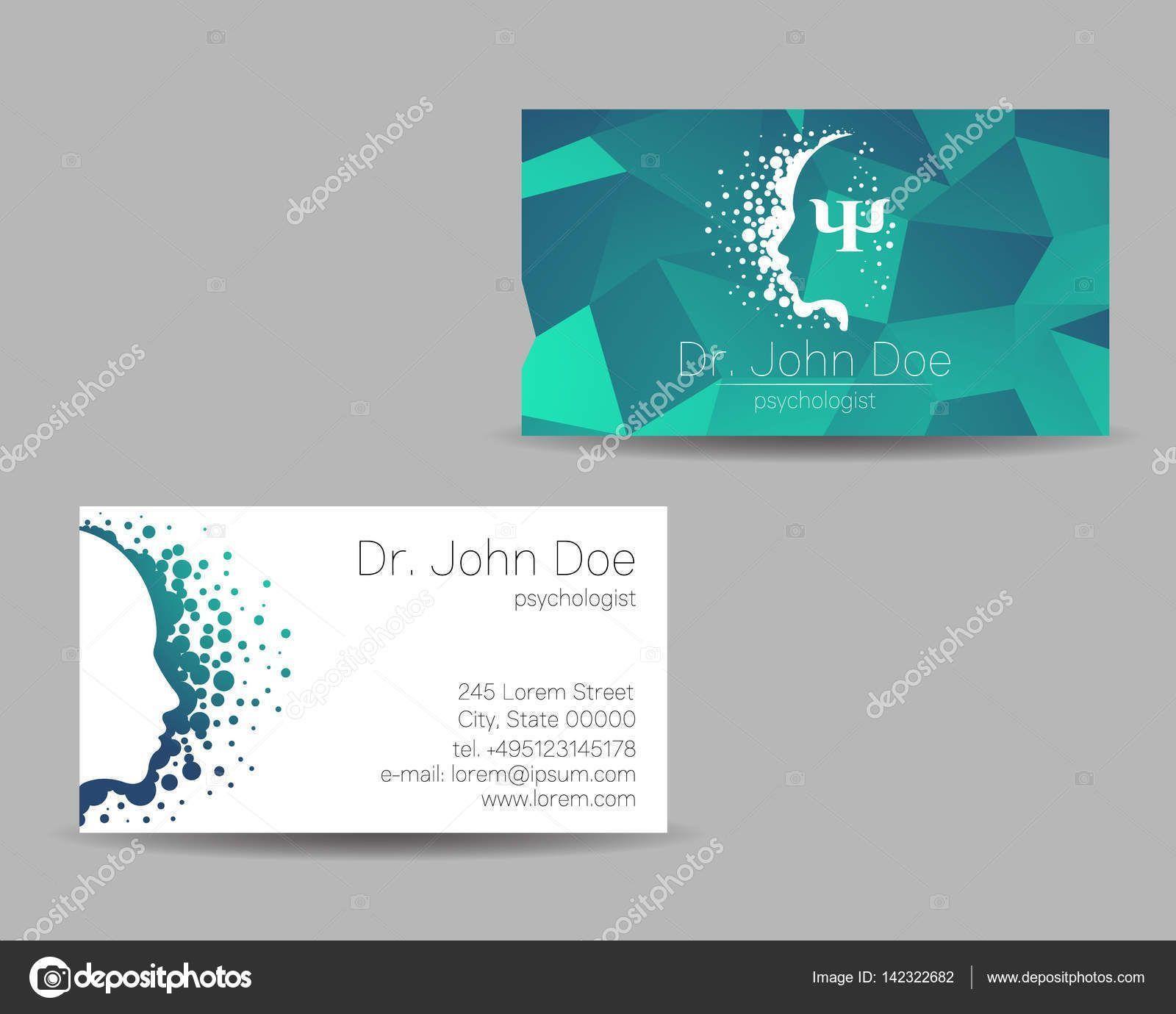 Design Templates Creative Business Cards For Psychologists Template Design Check More At H творческие визитные карточки дизайн визитной карточки визитки салона