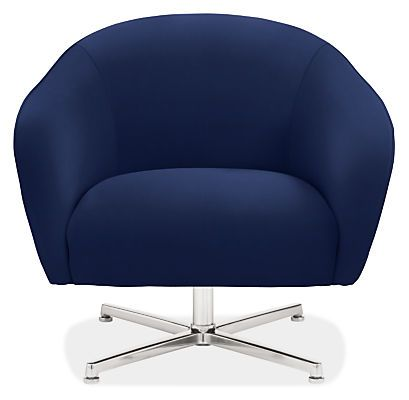 Carlo Swivel Chair - Modern Accent & Lounge Chairs - Modern Living Room Furniture - Room & Board