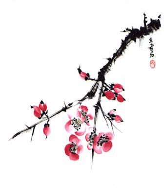 Watercolor Cherry Blossom Tattoos Japanese Cherry Blossom Tree