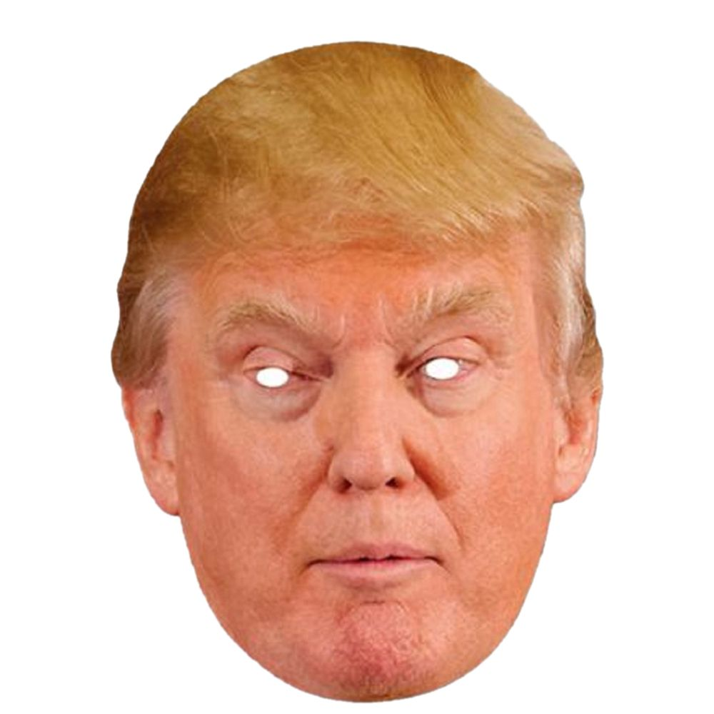 Donald Trump Paper Mask | Paper mask and Masking