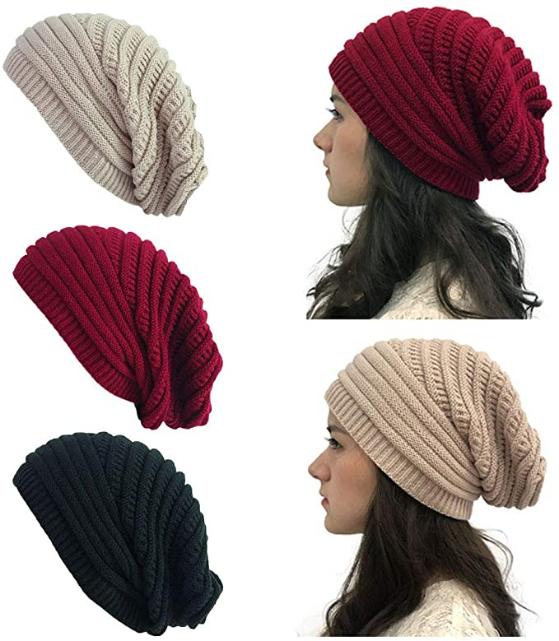 Danmy Winter Hats For Women Warm Chunky Soft Cable Knit Womens Beanie Hats Winter Hats Winter Hats For Women Beanie Hats For Women