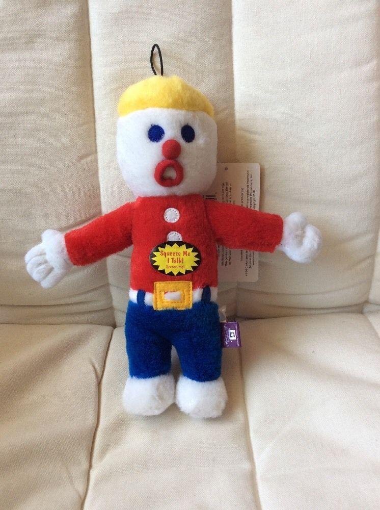 MR. BILL Plush SNL Character Yells Ohh Nooo Multi Pet Toy