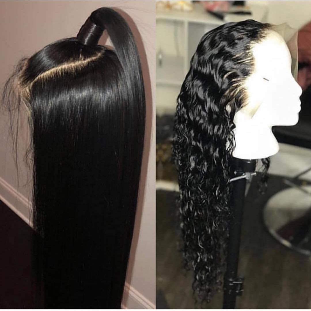 Black friday sale off jesvia hair lace front human hair wigs pre