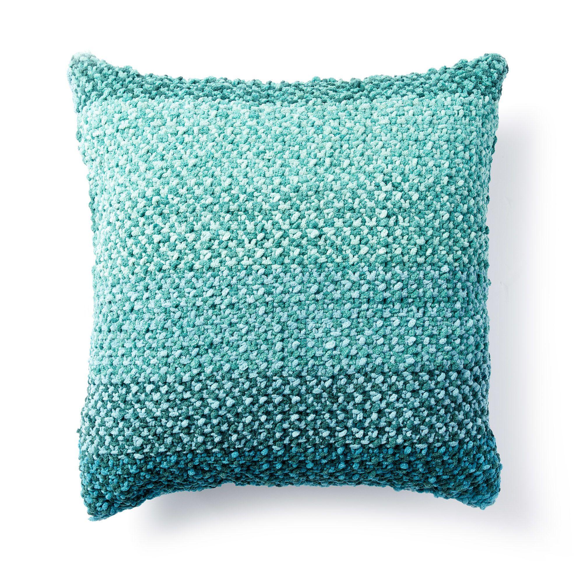 Bernat Warm Ripple Knit Blanket Pattern | Yarnspirations ...
