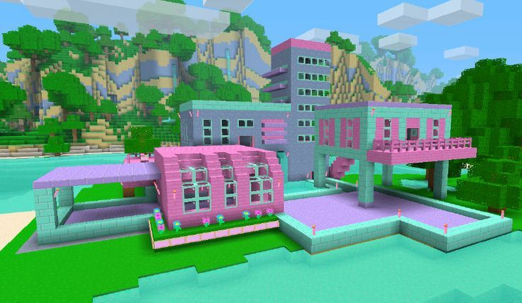 Minecraft Epic House For Girls Google Search Cuteness Cute