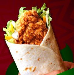 Homemade Chicken Finger Wraps Wrap Recipes Food Recipes