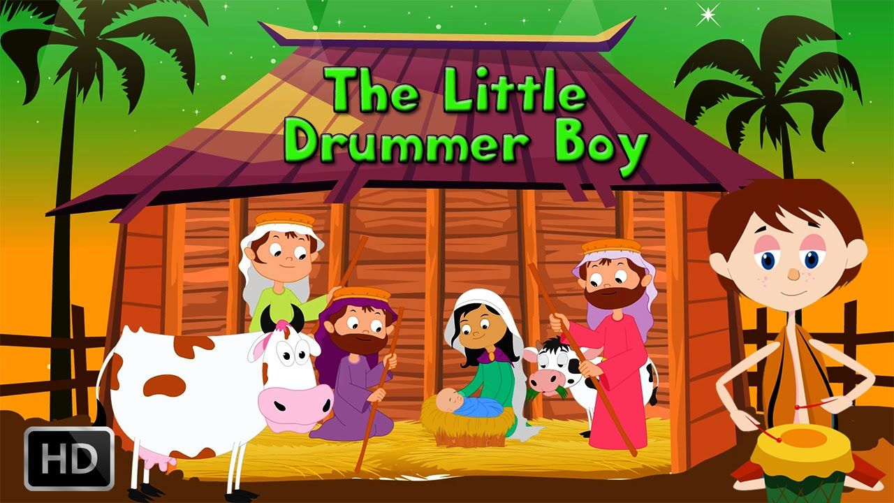 The Little Drummer Boy - Popular Christmas Carol With Lyrics To Sing Along | The little drummer ...
