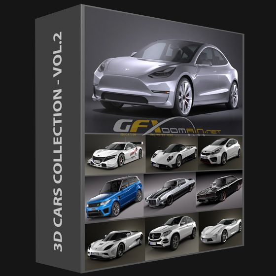 3d Cars Collection 2017 Vol 2 With Images Car Collection