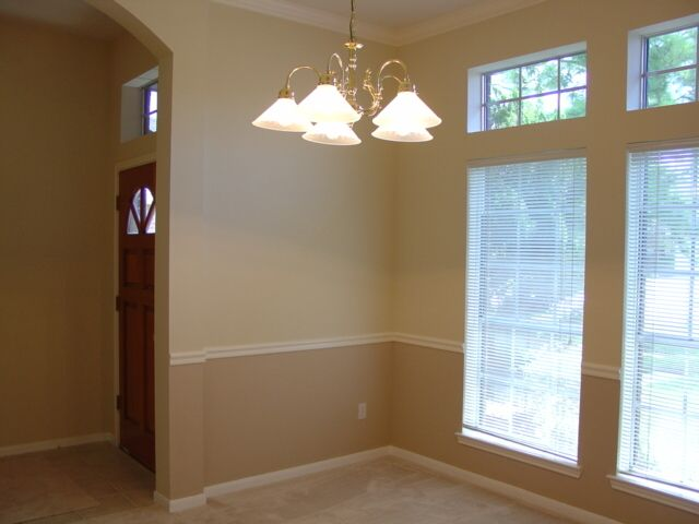 I Like The Two Tone Color Scheme For My Formal Dining Room Dining Room Paint Dining Room Colour Schemes Dining Room Colors