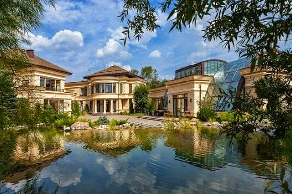 Most Expensive Homes In Russia Balcan Expres Mansions