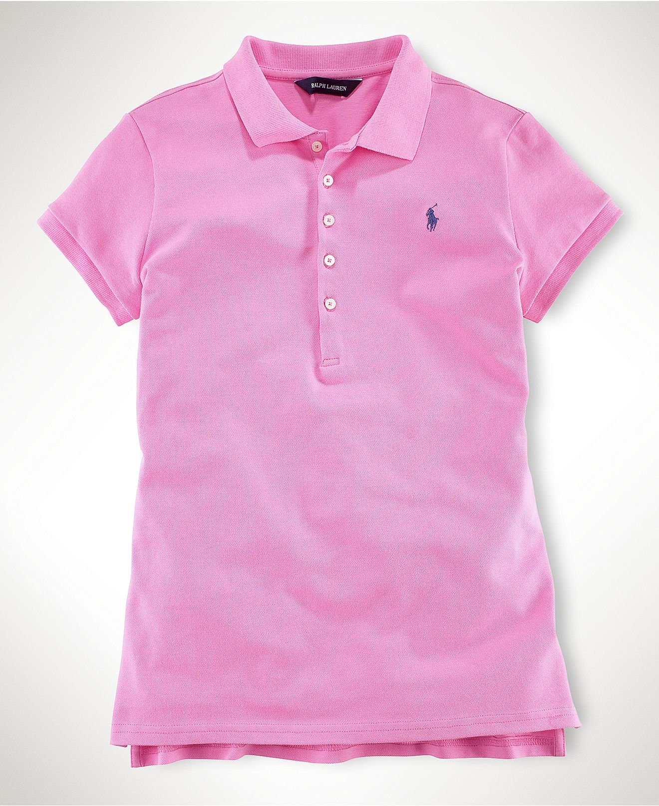 Ralph lauren kids shirt little girls mesh polo shirt for Personalized polo shirts for toddlers