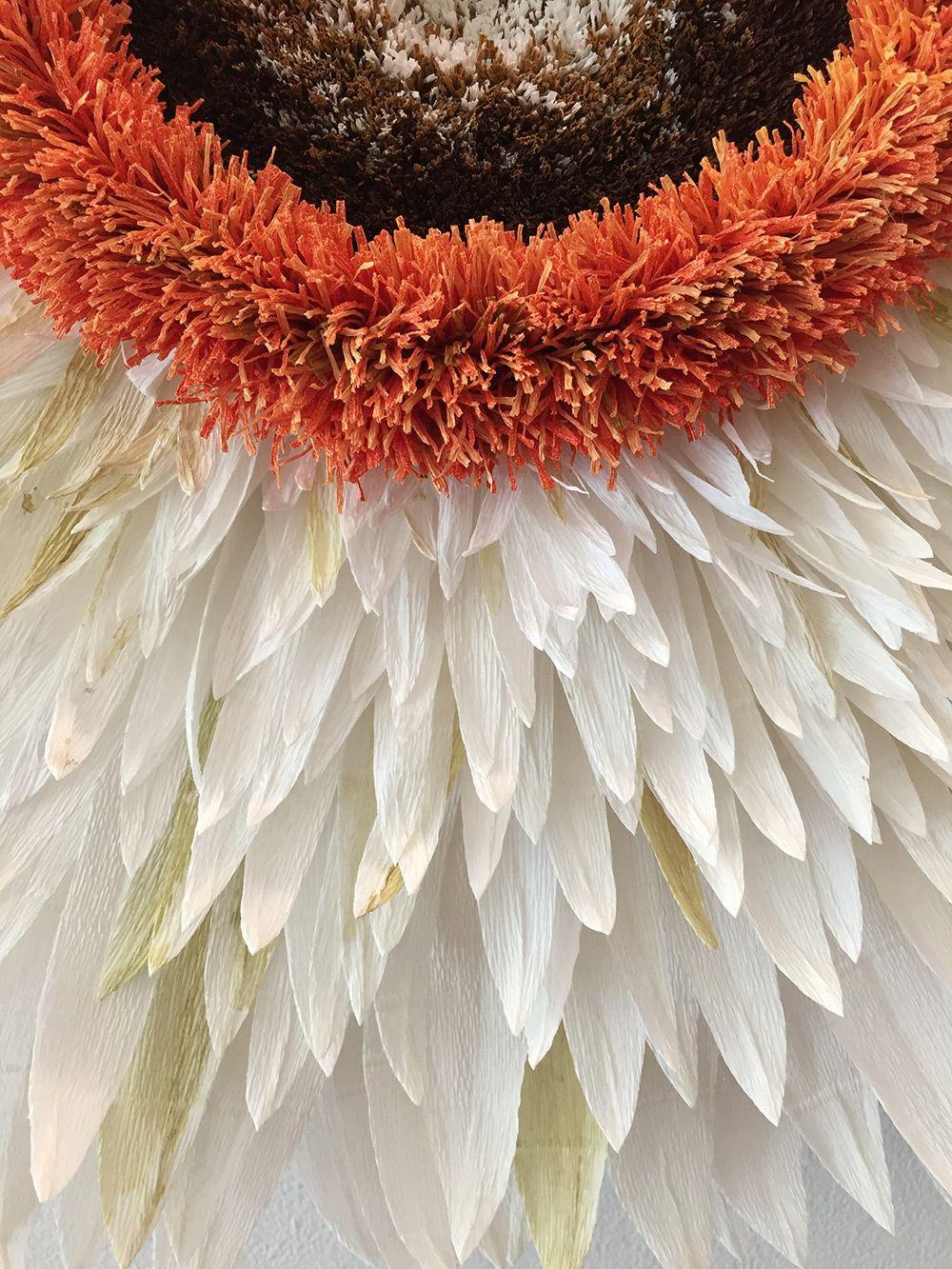 New Giant Paper Flower Sculptures By Tiffanie Turner Paper Flowers