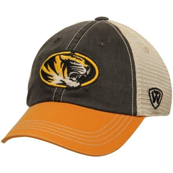 Missouri Tigers TOW Youth Rookie Tri-Tone Offroad Adjustable Snapback Hat Cap