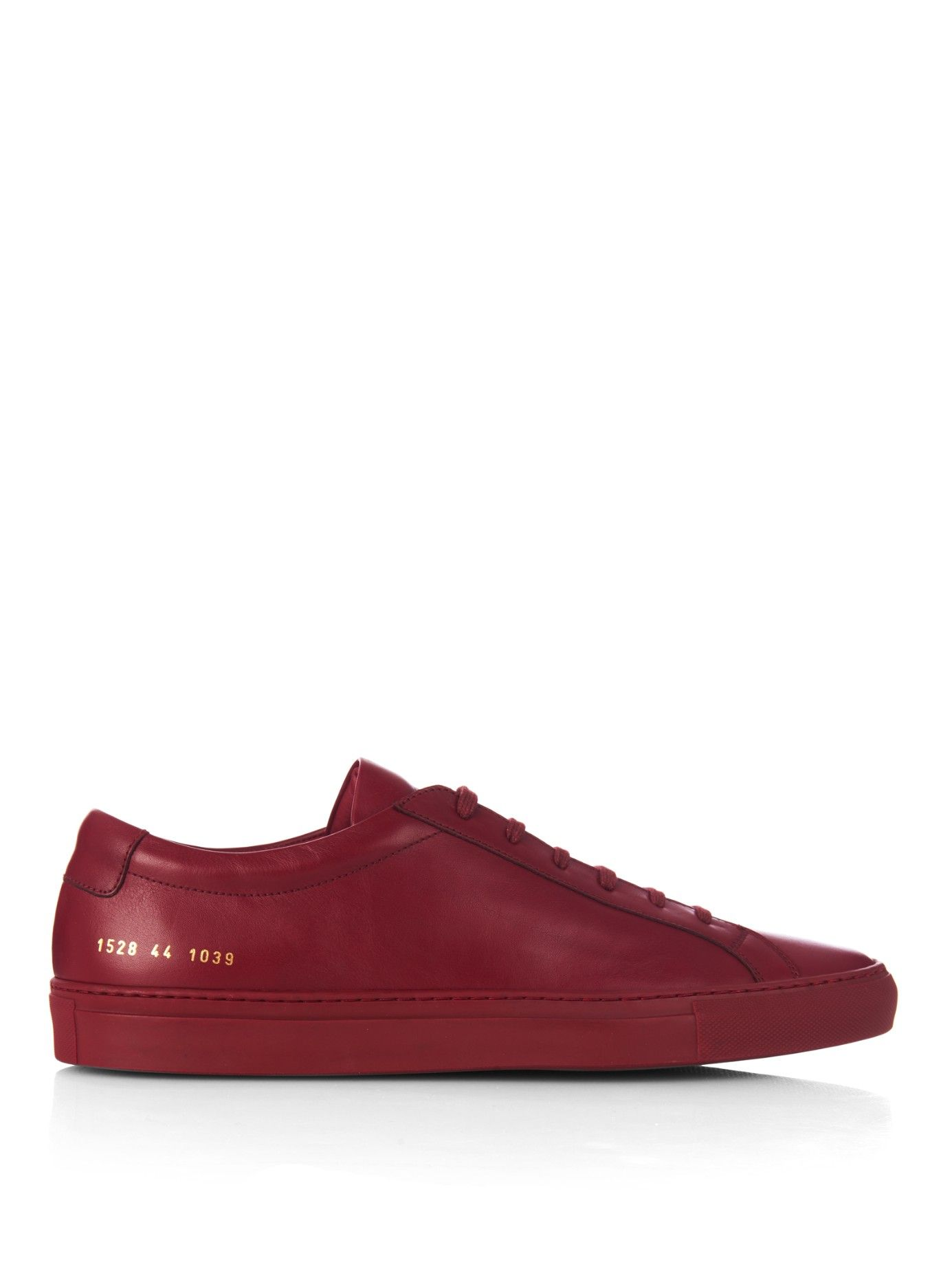 Free Shipping How Much Big Sale Cheap Price COMMON PROJECTS Leather Trainers TOVyBcHI