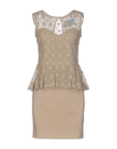 ..,MERCI Women's Short dress Beige 4 US