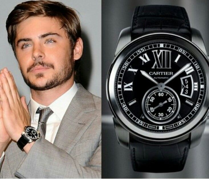 Cartier calibre watch watch out pinterest cartier calibre and cartier for Celebrity watches male