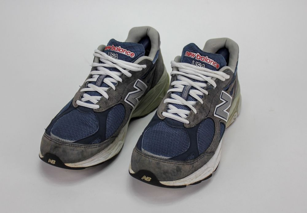 half off acb44 a047f New Balance 990 Running Walking Men's Shoes Size 11 D Blue ...