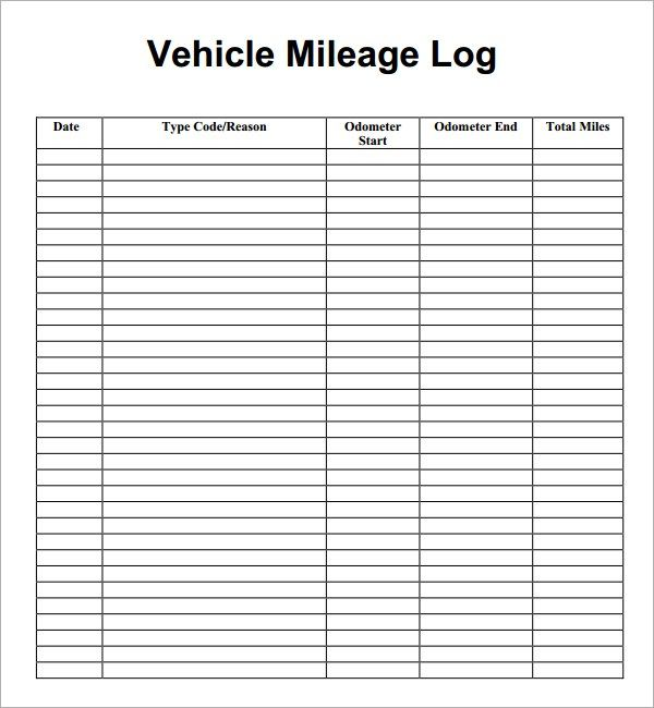 Mileage Log If You Re Somebody Who Needs To Track Mileage Then