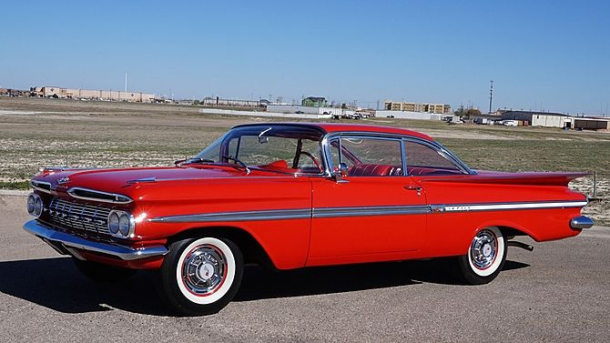 1959 Chevrolet Impala 348 Tri Power 3 Speed Mecum Auctions Chevrolet Impala Chevrolet Impala