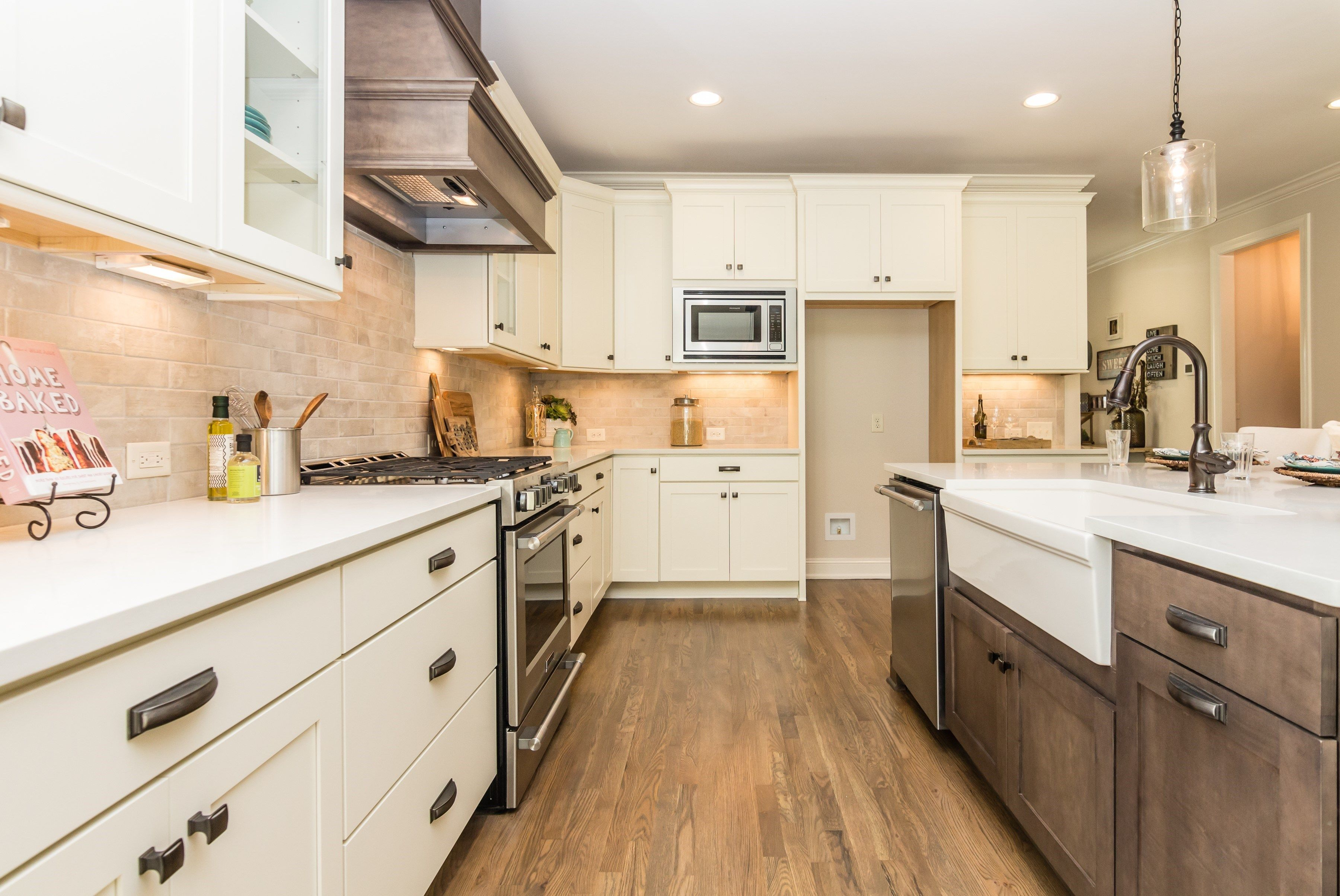 The Concord Kitchen With Farmhouse Sink Built By Homes By Dickerson In Briar Chapel Chapel Hill Nc Farmhouse Sink Kitchen Kitchen Home