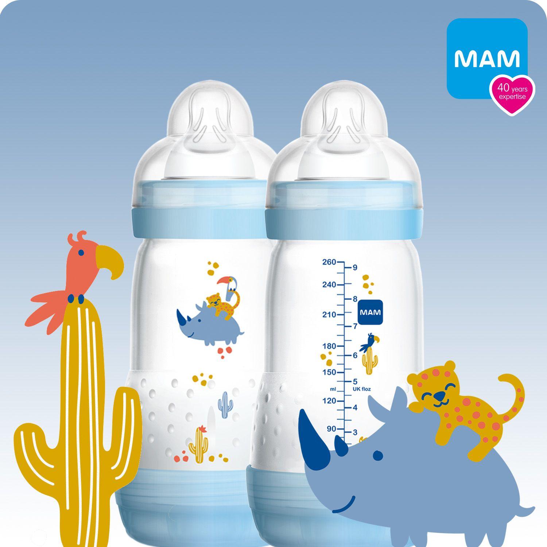 New Designs MAM Easy Start Anti-Colic Bottle 260ml 3pk