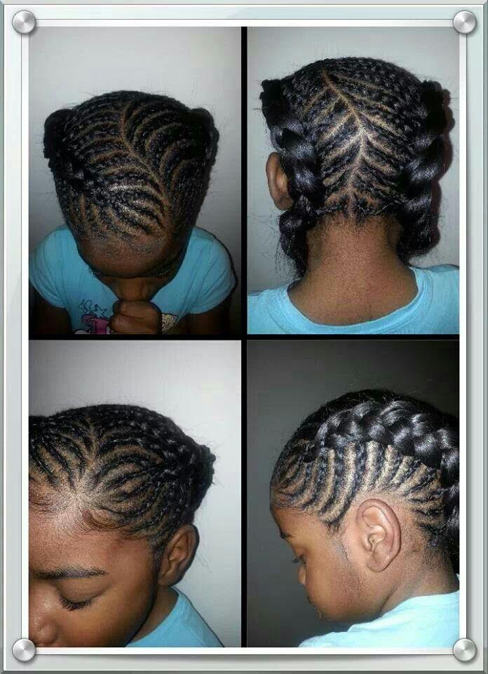 Childrens Hairstyles For School In : Kids braids hair photos pinterest kid