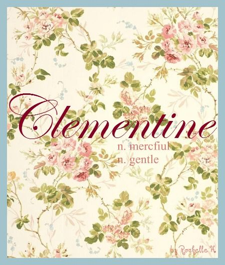 Baby Girl Name Clementine Meaning Merciful Gentle Origin Latin French German Http Www Pi Baby Girl Names Cool Baby Girl Names Arabic Baby Girl Names