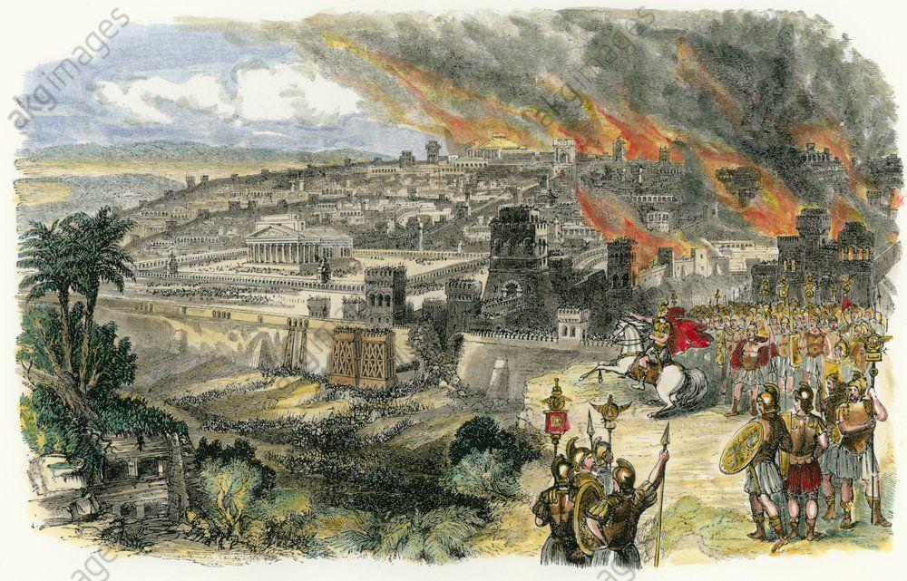 Zerstörung Tempel Jerusalem