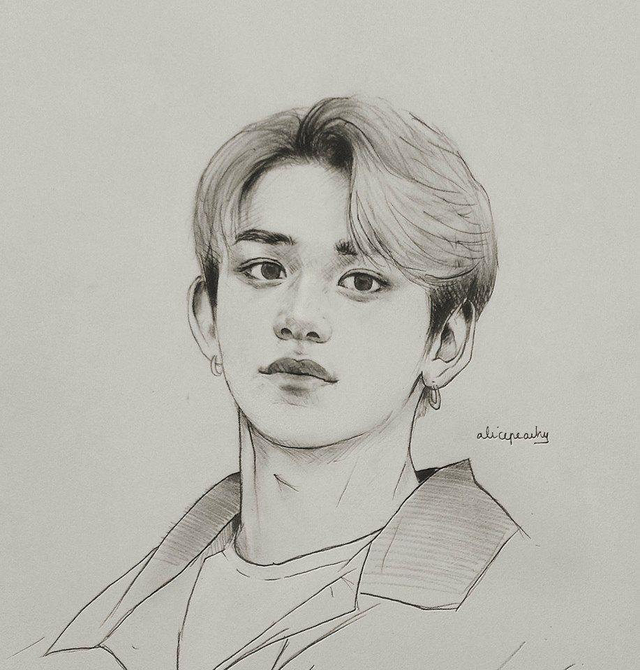Lucas Fanart Kpop Drawings Fan Art Drawing Kpop Fanart