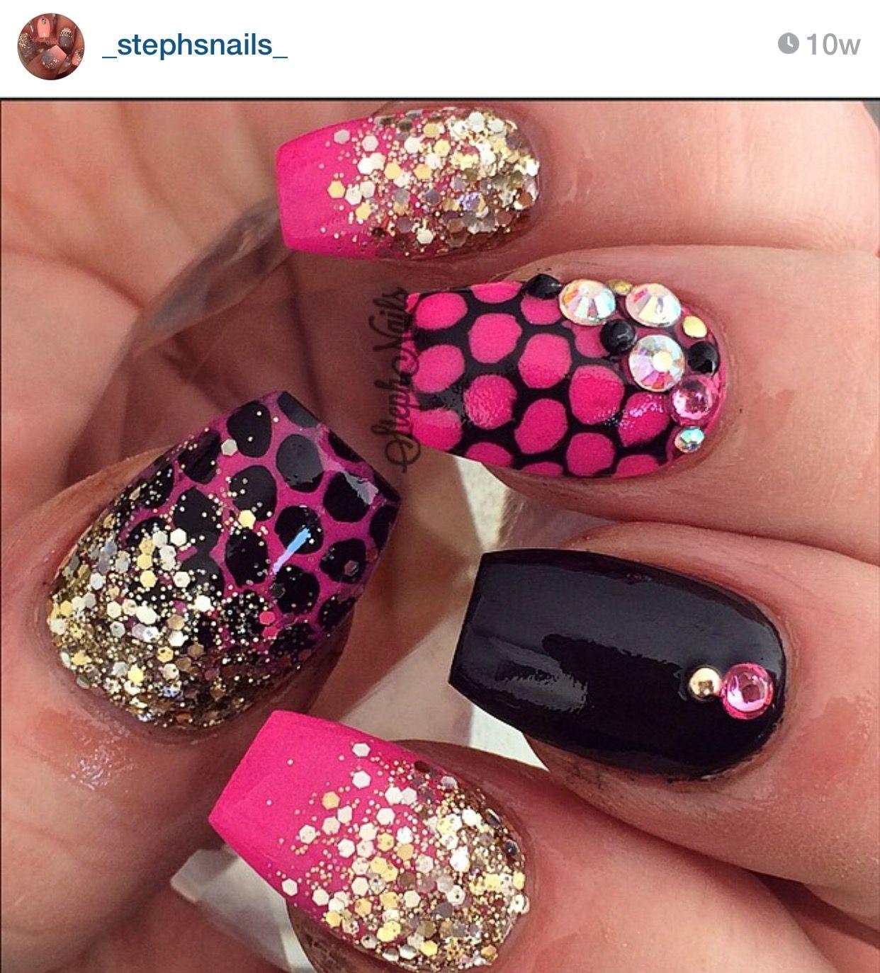 Pin by Larrissa on Nail Art   Pinterest   Nail shop, Nail nail and ...