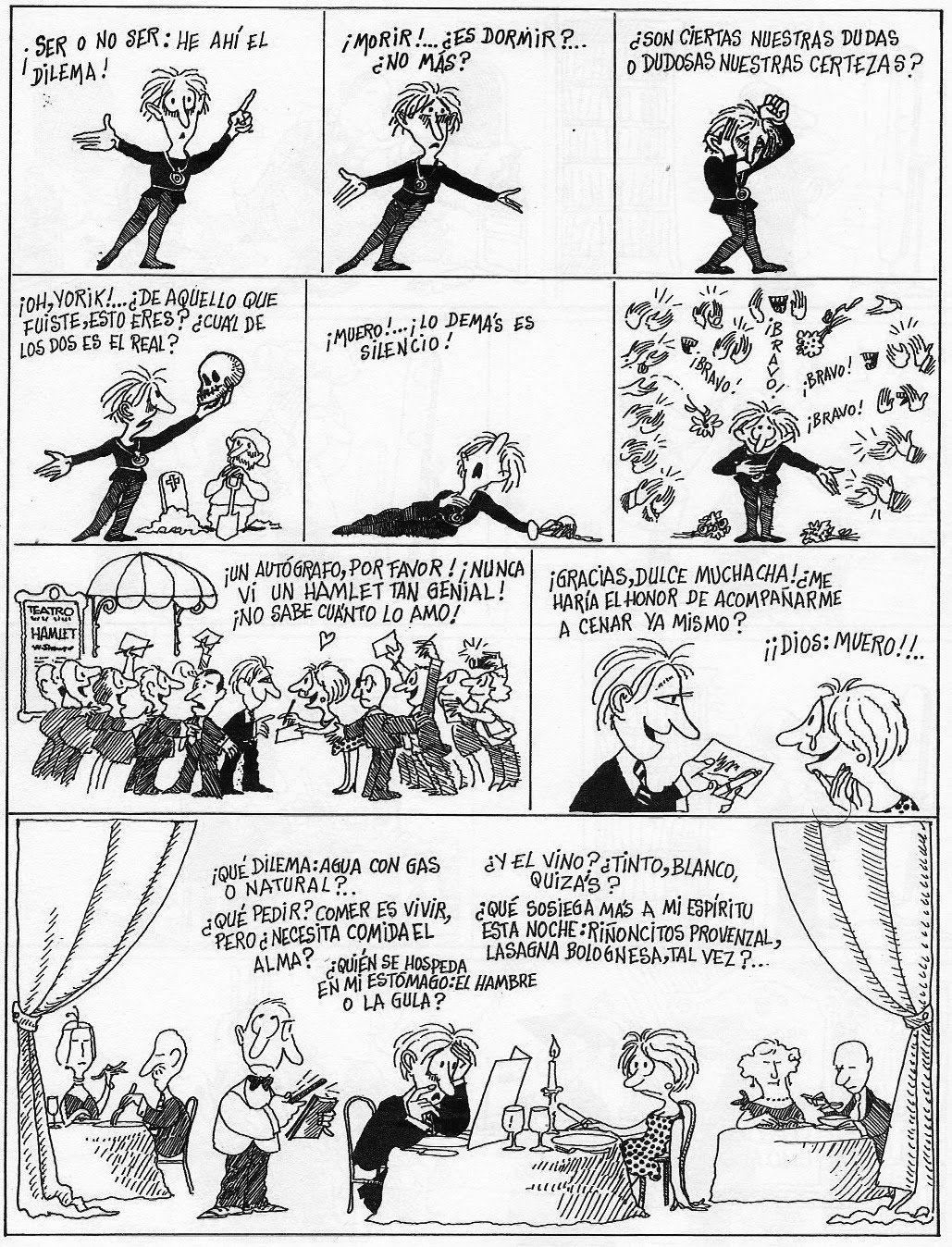 Este blog está dedicado al humor gráfico argentino y tiene
