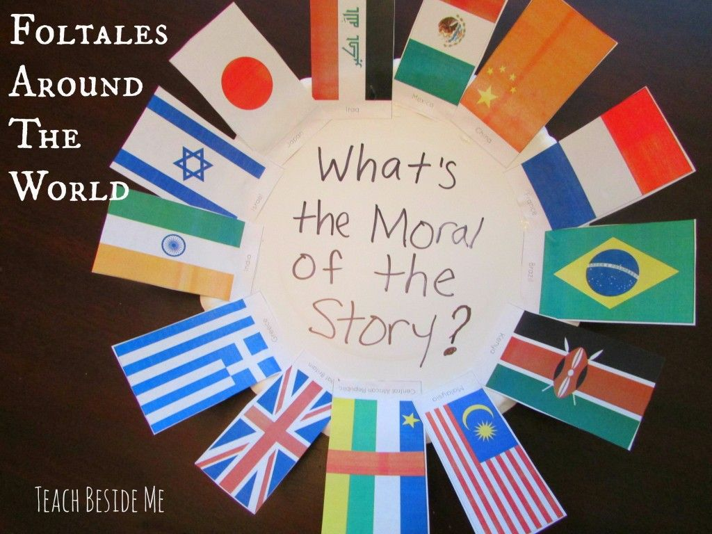 Lessons From Folktales Around The World 3rd Grade