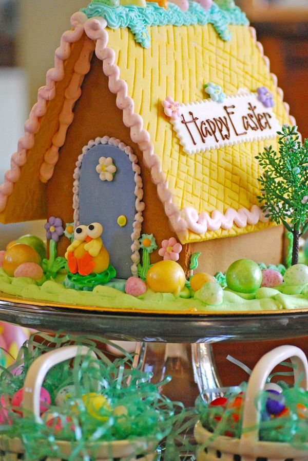 The backside of our easter gingerbread houses order online they the backside of our easter gingerbread houses order online they make great easter gifts for your own home or far away friends and relatives negle Image collections