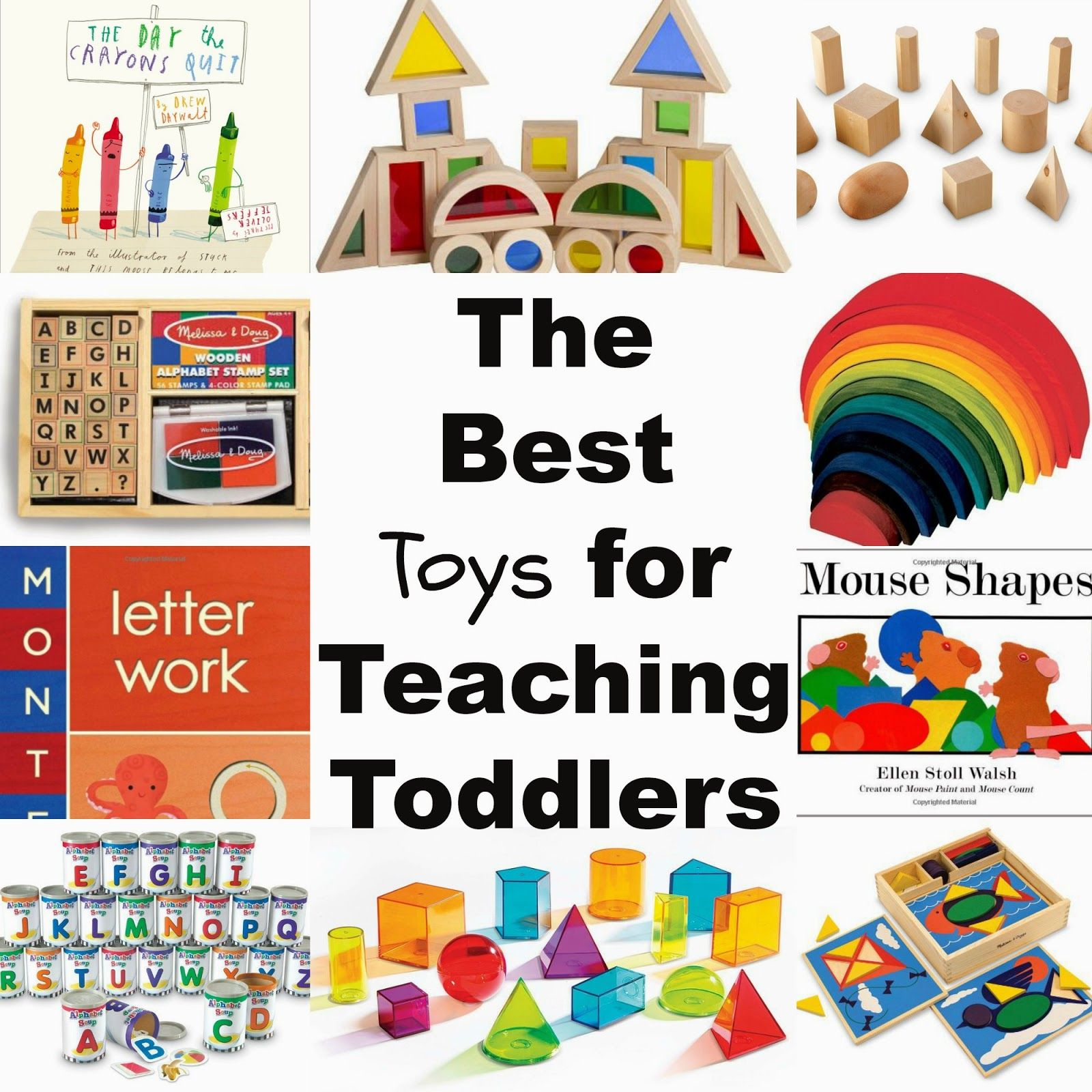 The Best Toys for Teaching Toddlers Through Play