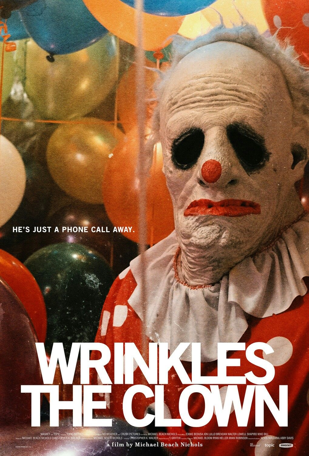 The Poster For The Unbelievable Documentary Wrinkles The Clown