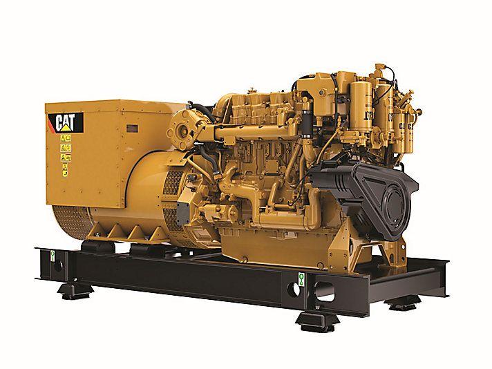 Cat   Cat C18 ACERT Marine Generator Set (Tier 3