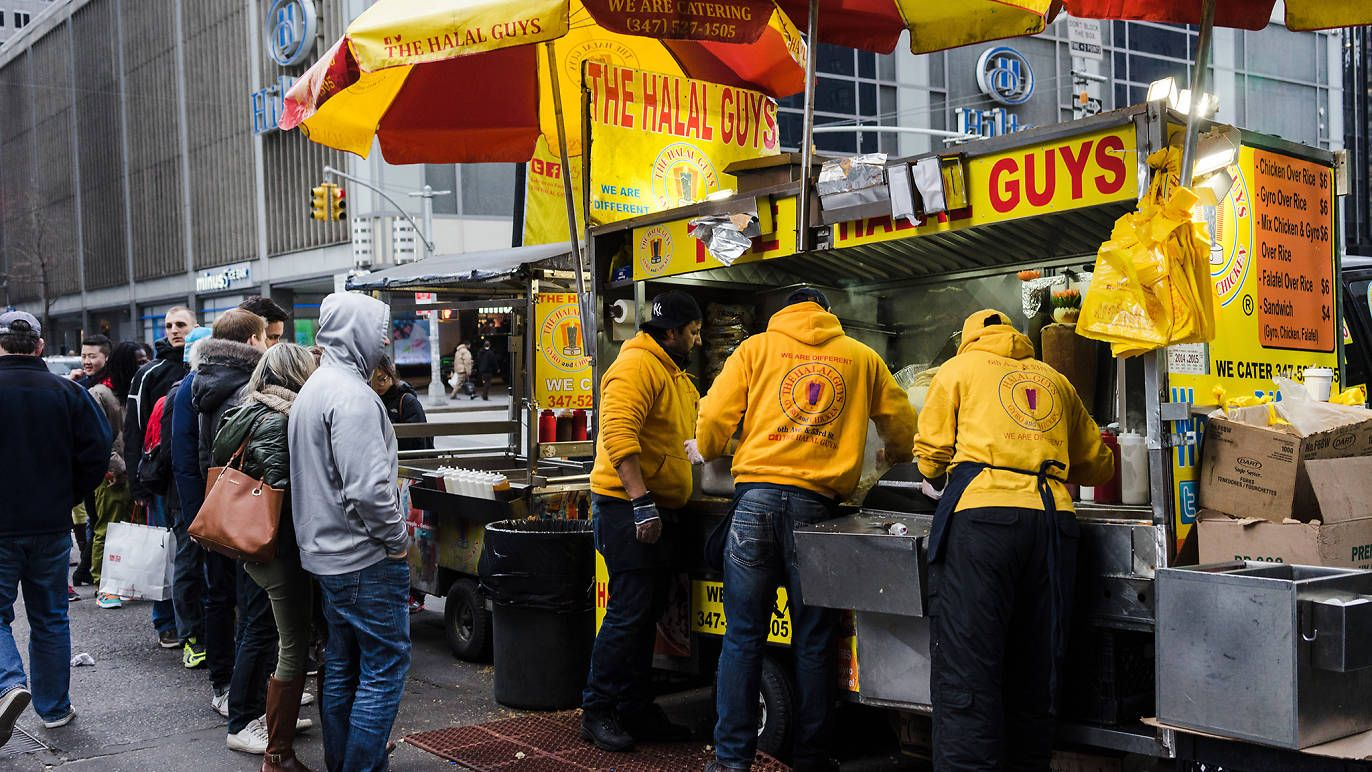 The Halal Guys Nyc Food Best Food Trucks New York Food