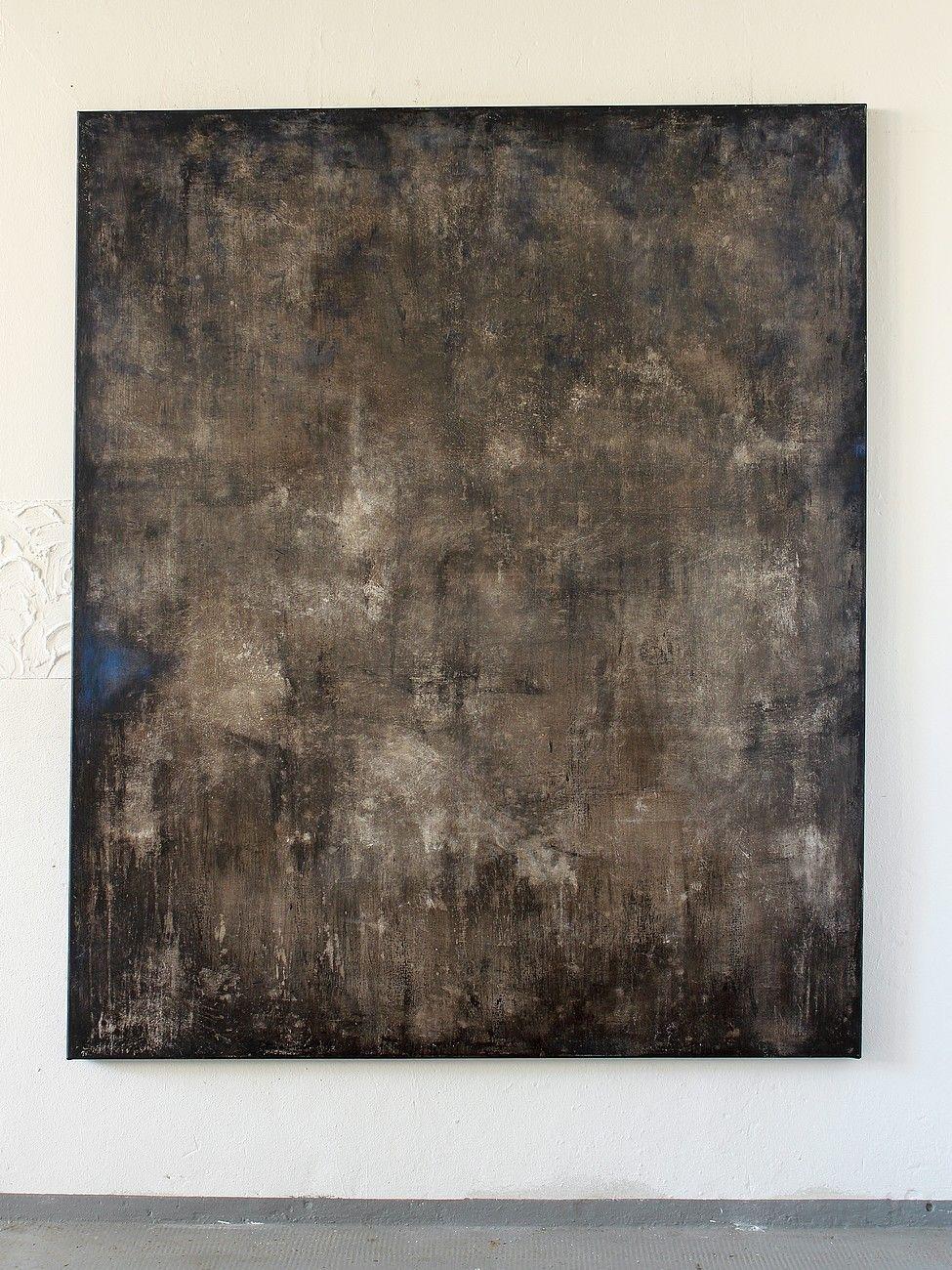 CHRISTIAN HETZEL - outshinning blue 2015 - 180 x 150 x 4 cm - Acryl auf Leinwand, a