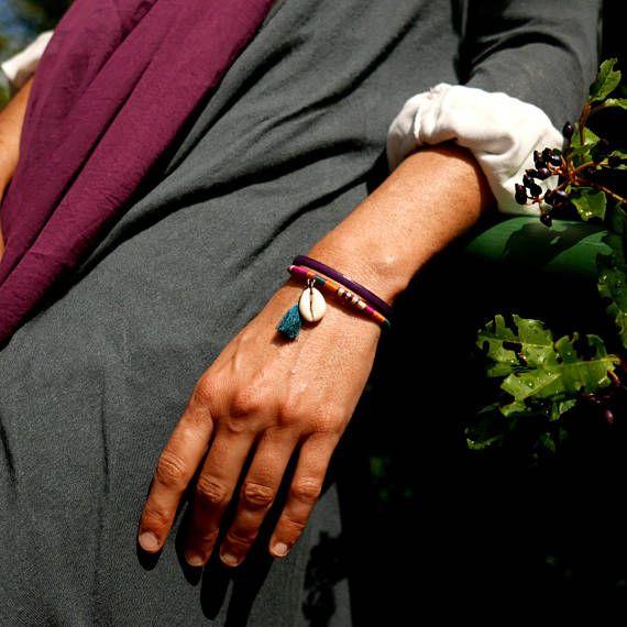 Gift for women, Sister Boho gift, Women bracelet, Tassel wife gift, Bohemian womens bracelet, Womens bracelet mom gift, Girlfriend gift