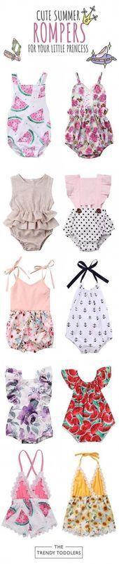 31 Ideen Babykleidung Neugeborene Sommerkinder – #Baby #KINDER #Kleidung #G … …