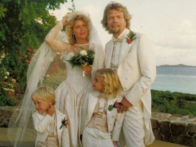Holly Branson Gets Married On Necker Island Business Insider Celebrity Wedding Photos Famous Wedding Dresses Celebrity Weddings