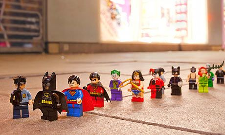Even superheroes have to queue | Lego batman, Legos and Batman
