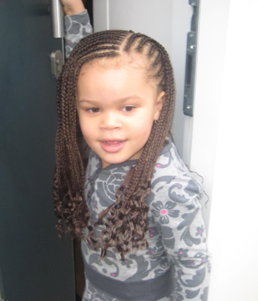 a cool spin on a simple cornrow hairstyle! | hair inspiration