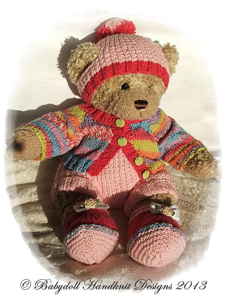 Pin By Betsy Huston On Build A Bear Knit And Crochet