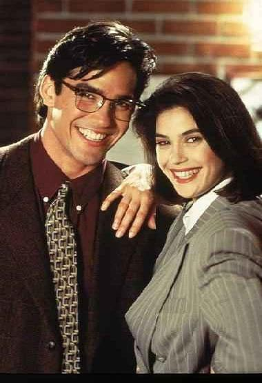 Clark Kent and Lois Lane from Lois And Clark
