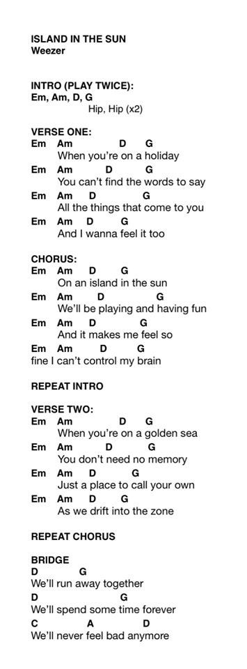 Fun Sight Of The Sun Chords Chords Tabs Lyrics Pinterest